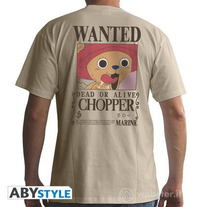 T-Shirt One Piece - Wanted Chopper S