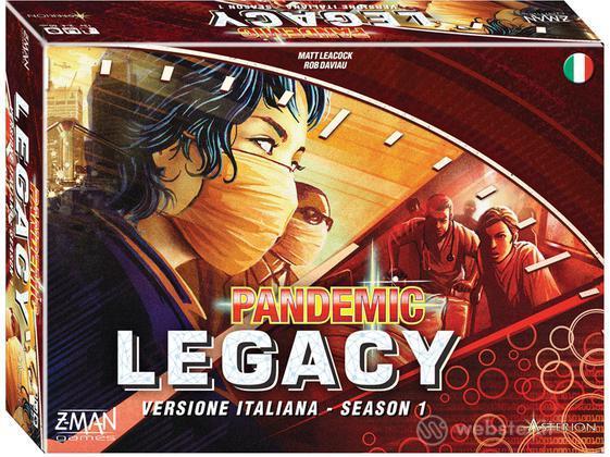 Pandemic Legacy - Scatola Rossa