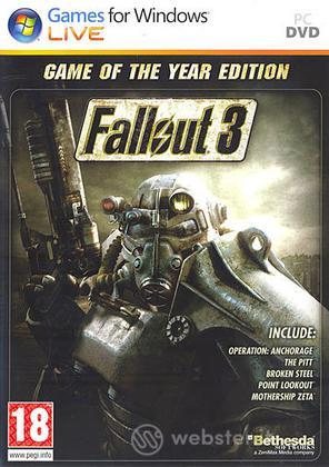 Fallout 3 Game Of The Year Day One 16/10