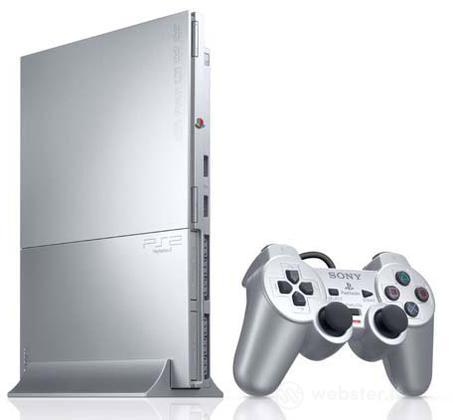 Playstation 2 Silver 9000