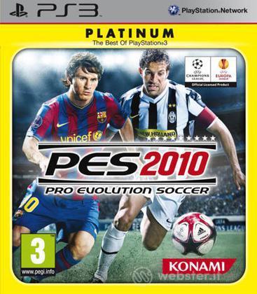 Pro Evolution Soccer 2010 PLT