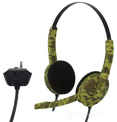 BB Cuffie Stereo Gaming Camo PS4
