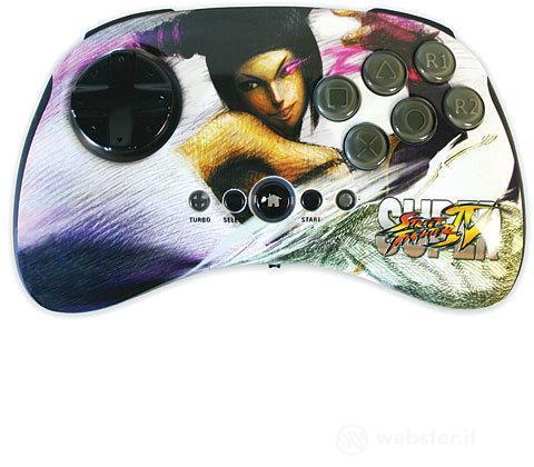 MAD CATZ PS3 FightPad Super SF4 Juri