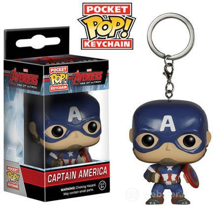 Figure Portachiavi POP! Marvel-C.America