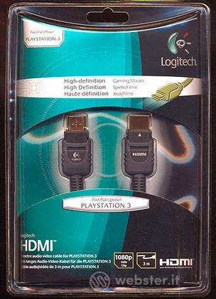 LOGITECH PS3 HDMI Cable Full HD
