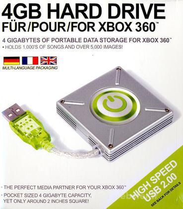 X360 Hard Drive 4 GB esterno DATEL