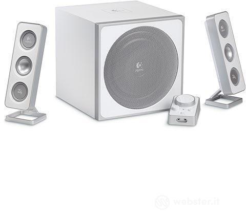 LOGITECH PC Speakers Z-4i White 2.1 40W