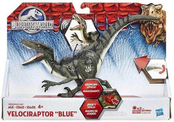 Figure Jurassic W. Growlers Velociraptor
