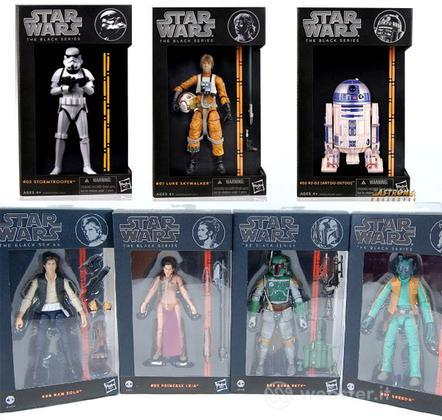 Figure Star Wars Black Series Deluxe Ass