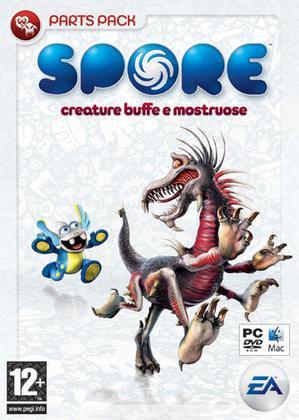 Spore Creature Buffe & Mostruose P. Pack