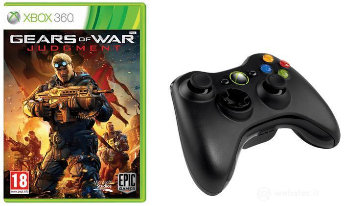 Gears of War Judgment + Ctrl Wrlss Black