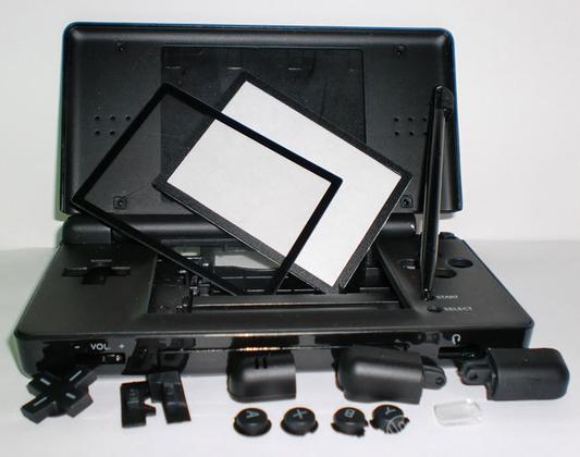 DSLite Kit di Ricambio Nero