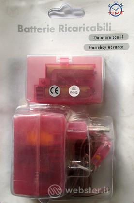 Set Batterie Ricaricabili GBA