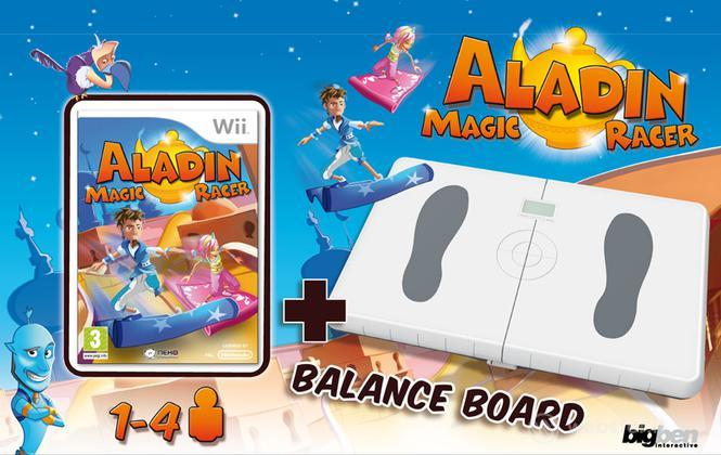 Aladin Magic Racer + Balance Board BigB