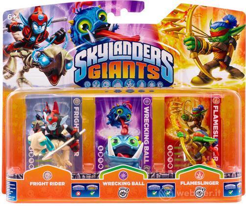 Skylanders W.Ball+F.Rider+F.Slinger (G)