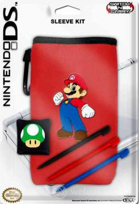 BD&A NDS Lite Mario Style & Sleeve Kit