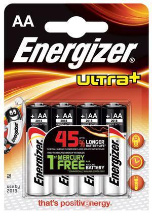 Pile Stilo Alcaline Energizer Ultra+