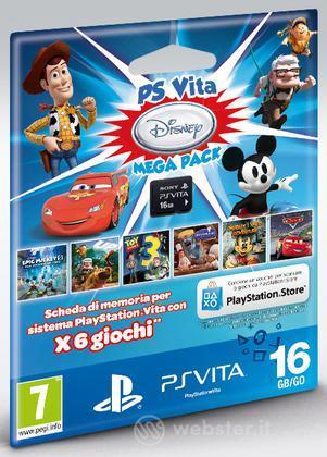 Memory Card 16GB PS Vita+MegaPack Disney