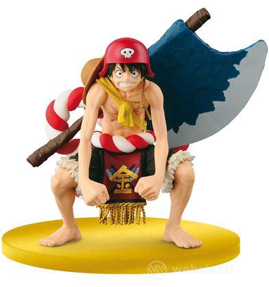 Figure One Piece Rubber Gold Movie Ed.