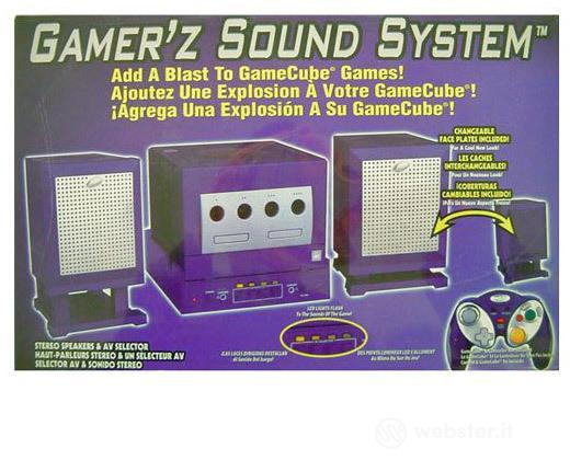 Game Cube Casse Sound System Intec 5308