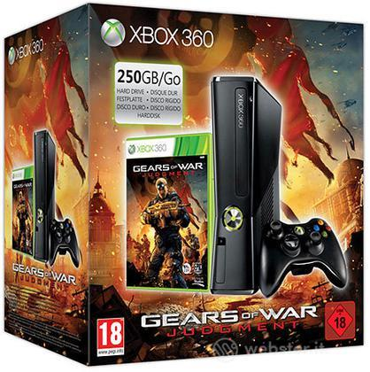 XBOX 360 250GB + Gears of War: Judgment
