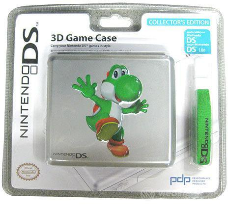 DSi NDS Case Per Giochi In Metallo Yoshi
