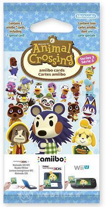 Amiibo Carte Animal Crossing - Serie 3
