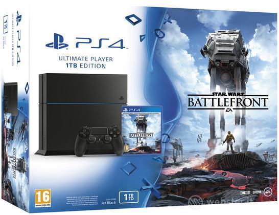 Playstation 4 1TB+Star Wars Battlefront