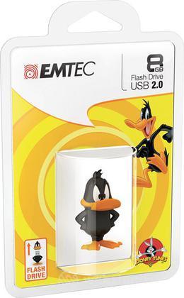 EMTEC USB Key 8GB L.TUNES Daffy Duck 3D