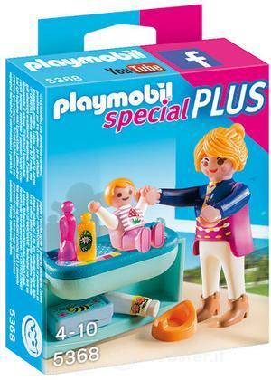 PLAYMOBIL Mamma con Fasciatoio