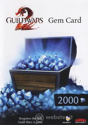 Guild Wars 2 Gem Card 2000