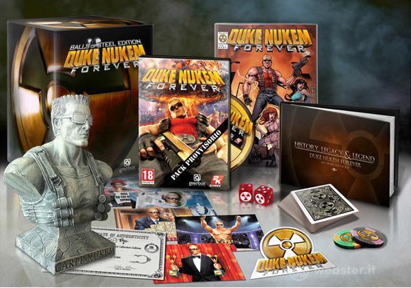 Duke Nukem Forever Palle D'Acciaio