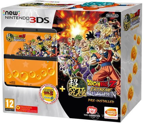Nintendo New 3DS + Dragon Ball Z Butoden