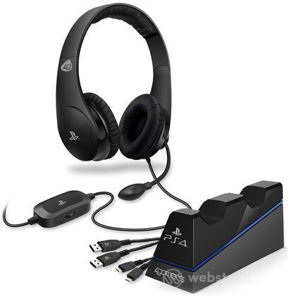 Cuffie Stereo Gaming Starter Kit PS4