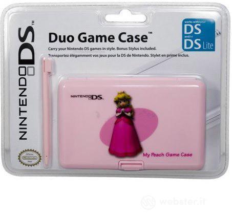 DS Custodia Duo Game + Stylus Peach