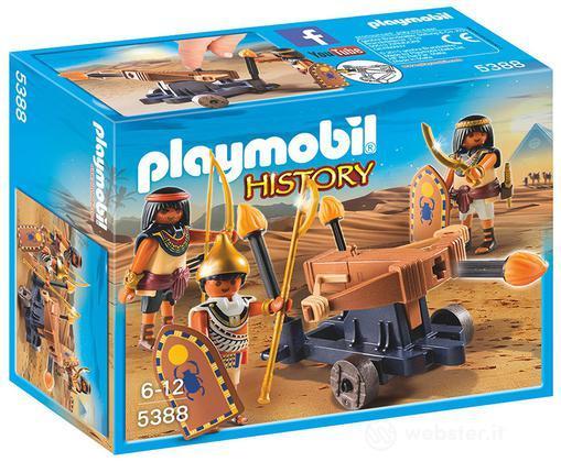PLAYMOBIL Soldati Egizi Con Lanciadardi
