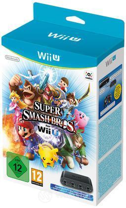 Super Smash Bros + Gamecube Ctrl Adapter