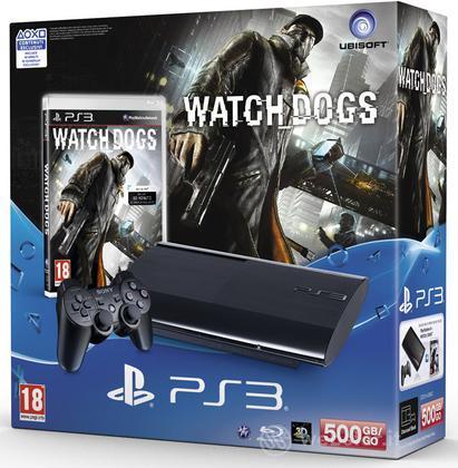 Playstation 3 500GB + Watchdogs