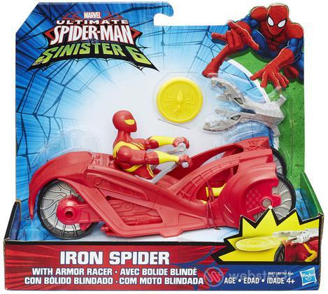 Figure Marvel Iron Spider+Armor Racer