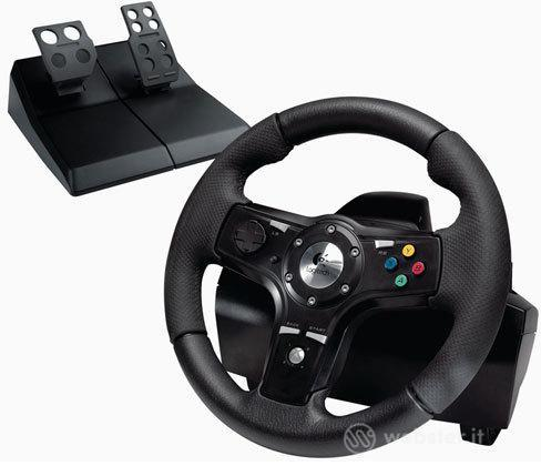 LOGITECH X360 Volante Driv.Race FX Wheel