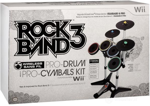 MAD CATZ WII Wrlss Drum-Cymbals Rock B3
