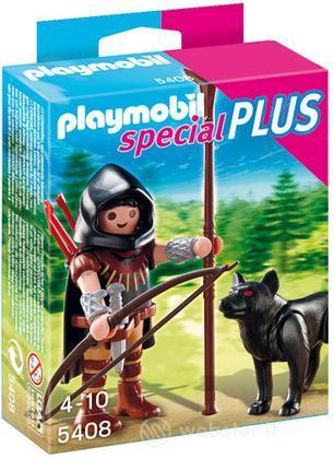 PLAYMOBIL Cavaliere con Lupo