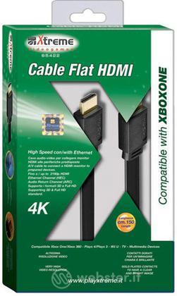 Cavo HDMI Flat 4K XONE