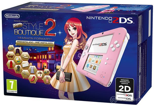 Nintendo 2DS Rosa + New Style Boutique 2