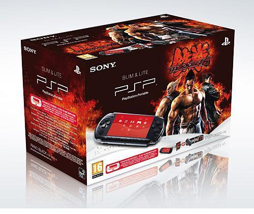 PSP 3004 + Tekken 6