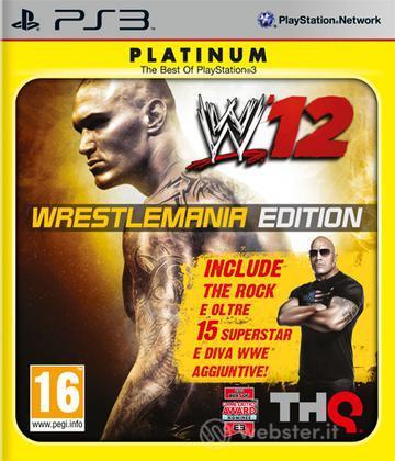 WWE 12 Wrestlemania PLT
