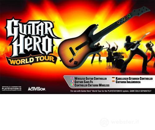 PS2 Guitar Hero World Tour Stand. Guitar
