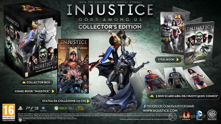 Injustice: Gods Among Us Collector's Ed.