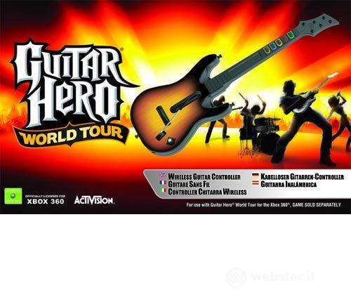 X360 Guitar Hero World Tour Stand.Guitar