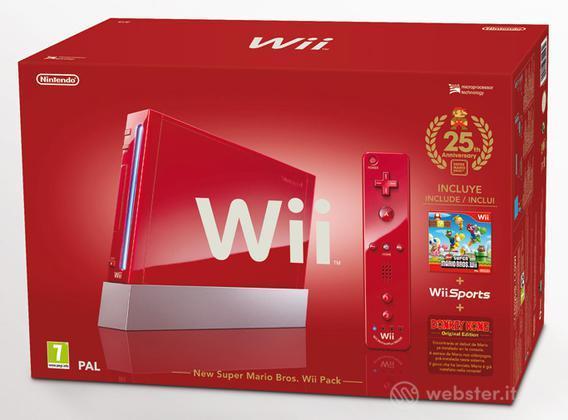 WII New Super Mario Bros Pack
